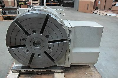 YUASA CNC 4TH AXIS ROTARY TABLE INDEXER w/UDNC-100 CONTROLLER