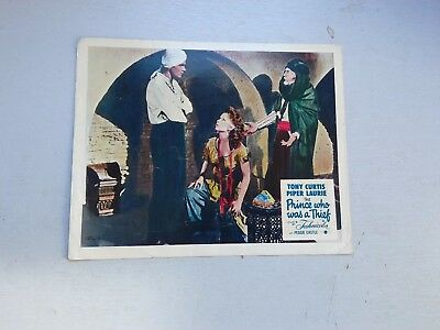 The Prince Who Was A Thief 1956  Foh Still Tony Curtis/piper Laurie