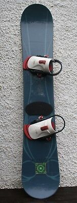 Burton Supermodel 163 Snowboard with Quick release Boots/Binding UK 11