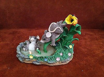CHARMING TAILS ~ THE WATERSLIDE ~ 87/384 ~ Fitz & Floyd ~ FREE SHIPPING!