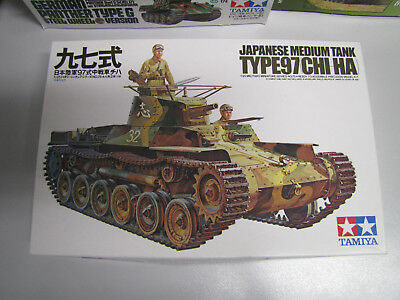 1:35 Tamiya 35075 Japanese Medium Tank Type 97 Chi-Ha