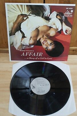 Abbey Lincoln's Affair...a Story of a Girl in Love, Jazz LP, on Liberty LRP 3025