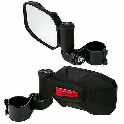 "RED STRIKE Seizmik UTV Break-Away Side Mirrors 1.75/""-UTV Rock Buggy Sand Rail"