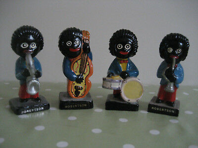 Robertsons jam figures / Set of 4 / Collectible / Excellent condition
