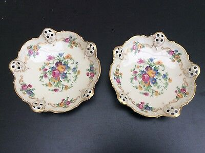 Vintage Pair Rosenthal Moliere 2566 Porcelain Dishes