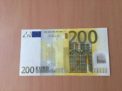 Banknote 200 Euro X Germany R008 Draghi