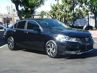 2016 Honda Accord LX Sedan 2016 Honda Accord LX Sedan Repairable Salvage Only 18K Mi Nice Project Wont Last