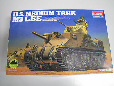 1:35 Academy 13206 U.S. Medium Tank M3 Lee