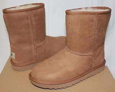 645ec7563e1 UGG KIDS CLASSIC Short II 2 Waterproof chestnut boots 1019646K NEW ...