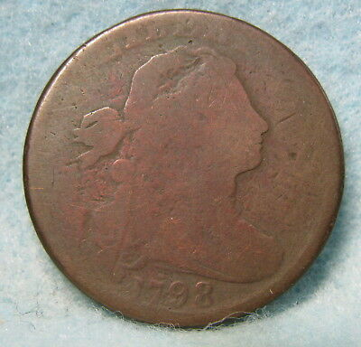 1798 Draped Bust Large Cent Great Early Date! * Circulated US Coin *
