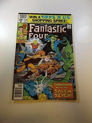 Fantastic Four #223 signed by Joe Sinnott and Bill Sienkiewicz FN- condition