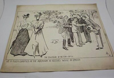 The Education of Mr Pipp  - c1898 Signed Isaac Makin *Salford*