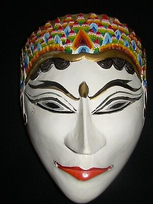 Lovely handmade Indonesian wooden wall mask