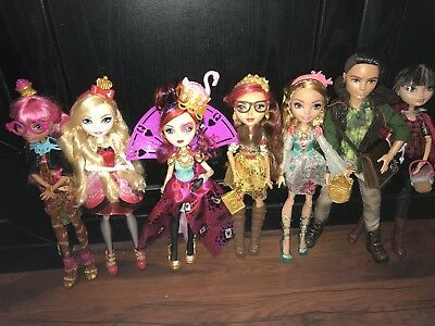 Ever After High Dolls Bundle, Great Condition