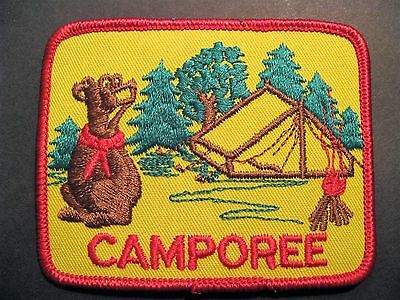 Boy Scouts Canada Camporee Bear Embroidered Patch Cubs Beavers