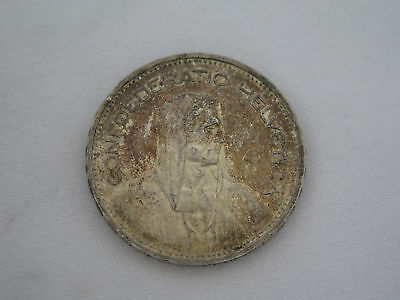 1939 B Switzerland Silver 5 Franc Coin (Nice Coin)