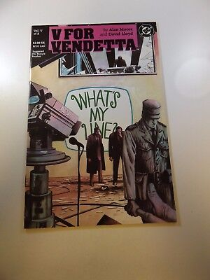 V For Vendetta #5 VF- condition Free shipping on orders over $100.00!