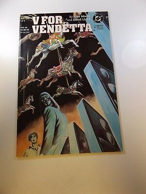 V For Vendetta #8 VF+ condition Free shipping on orders over $100.00!