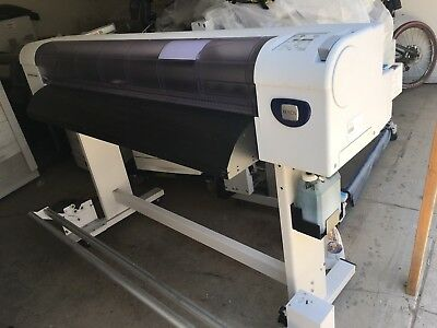 Xerox 8254 solvent plotter  perfectly working Mutoh VJ-1304ax