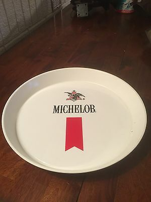 Michelob Beer Plastic Serving Tray Very Nice