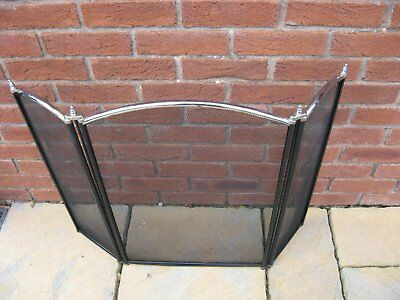 Fireguard / sparkguard 26 inches high and 31 inches wide when laid flat