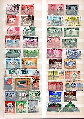 Pakistan large collection of mint and used stamps