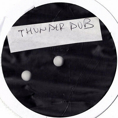 """UNKNOWN thunder dubs 10"""" RAW UK ROOTS DUBPLATE"""