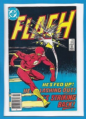 """The Flash #335_July 1984_Very Fine_Pied Piper_""""how To Trash A Flash""""!"""