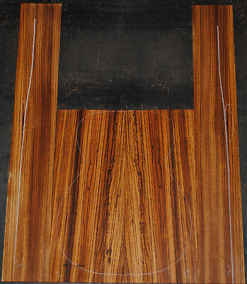 Zebrawood back and side set Luthier Tonewood