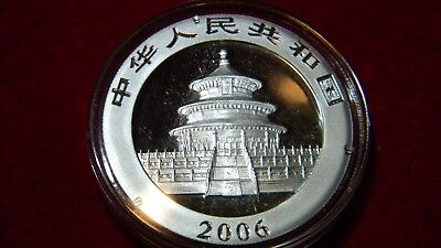2006 Silver Chinese Panda Uncirculated in OGP