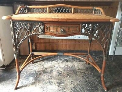 Antique Wicker Dressing Table