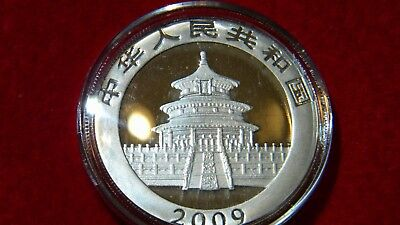 2009 Silver Chinese Panda Uncirculated in OGP