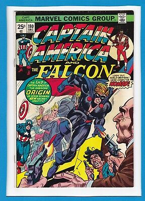 CAPTAIN AMERICA & THE FALCON #180_DEC 1974_VERY FINE_1st APPEARANCE OF NOMAD!