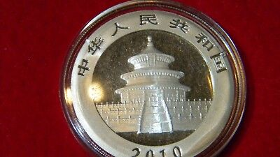 2010 Silver Chinese Panda Uncirculated in OGP