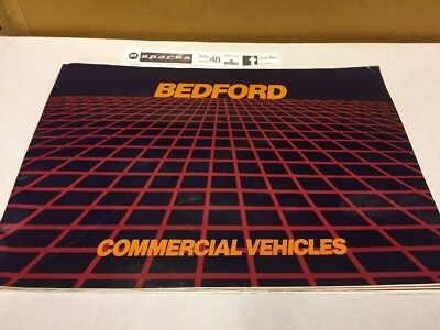 Bedford Truck And Van A4 Colour Brochure Vauxhall GM 1980 Commercial Vehicle
