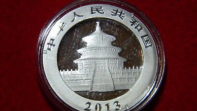 2013 Silver Chinese Panda Uncirculated in OGP