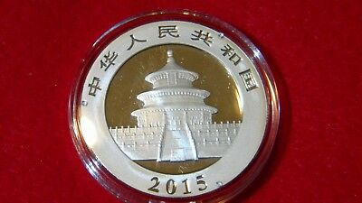 2015 Silver Chinese Panda Uncirculated in OGP