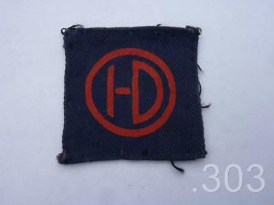 British Army 51st (Highland) Division Cloth Formation Insignia Badge Patch