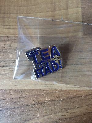 lovenskate drink tea get rad pin