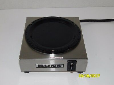 Bunn WX1 Commercial Carafe Coffee Pot Single Burner Warmer - Tested/Working