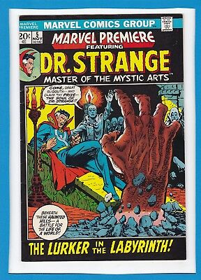 Marvel Premiere #5_November 1972_Very Fine Minus_Dr. Strange_Bronze Age Marvel!