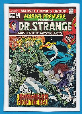 Marvel Premiere #6_January 1973_Very Fine+_Doctor Strange_Bronze Age Marvel!