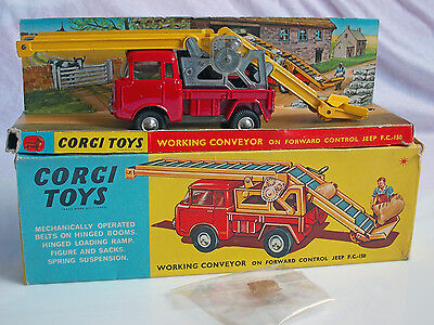 Corgi Toys  64 Working Conveyor Jeep F.c.150  Gt. Britain In Ovp Top Mint
