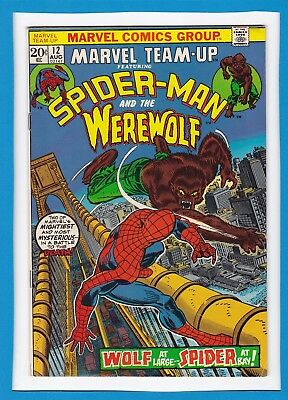 Marvel Team-Up #12_August 1973_Very Good_Spider-Man_Werewolf By Night!