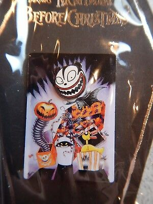 Nightmare Before Christmas Haunted Mansion Holiday Teddy Portrait Pin