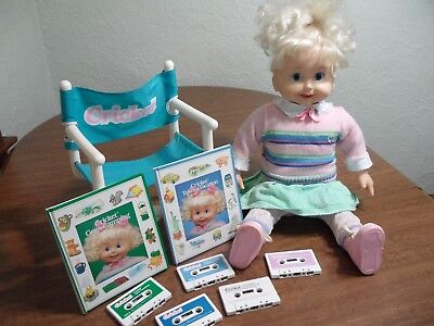Talking CRICKET 1985 Playmates Talking Doll Animated Clothes Tapes Books Lot