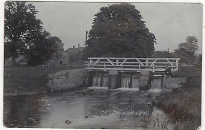 Real Photo Postcard Of The Bridge, Tattershall  , Lincolnshire Posted 1903