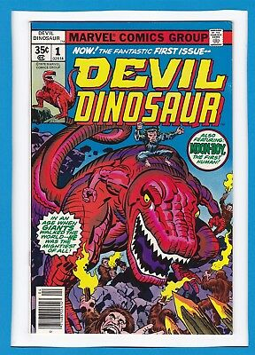 Devil Dinosaur #1_April 1978_Vf_Moon-Boy_The Fantastic First Issue_Jack Kirby!