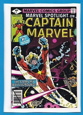 Marvel Spotlight #1_July 1979_Nm Minus_Captain Marvel_All-New Collector's Item!
