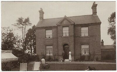 Real Photo Postcard Of House Tattershall/coningsby  , Lincolnshire